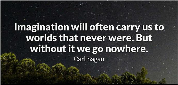 carl sagan's quote