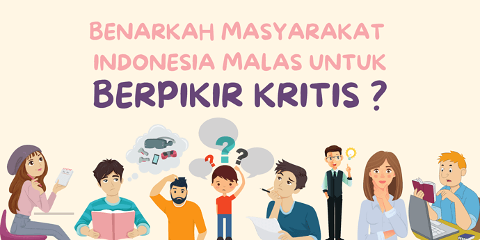 benarkah Masyarakat Indonesia malas untuk