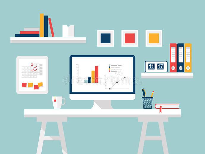 home-office-flat-design-vector-illustration-modern-home-office-interior-designer-desktop-computer-furniture-71504898