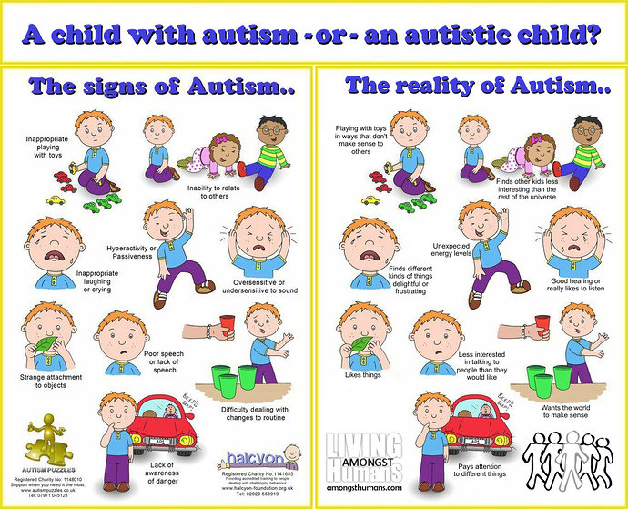 Gejala Autisme dan kenyataannya