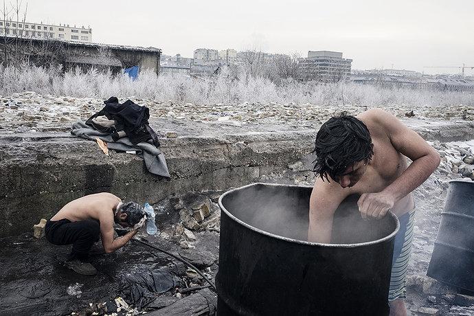 Nasib para imigran di Eropa
