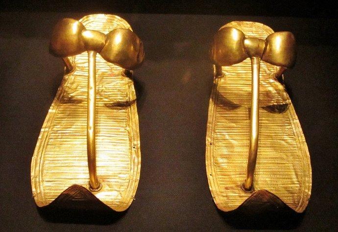 King-Tut-Golden-Sandals
