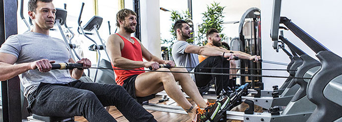 ilustrasi gym