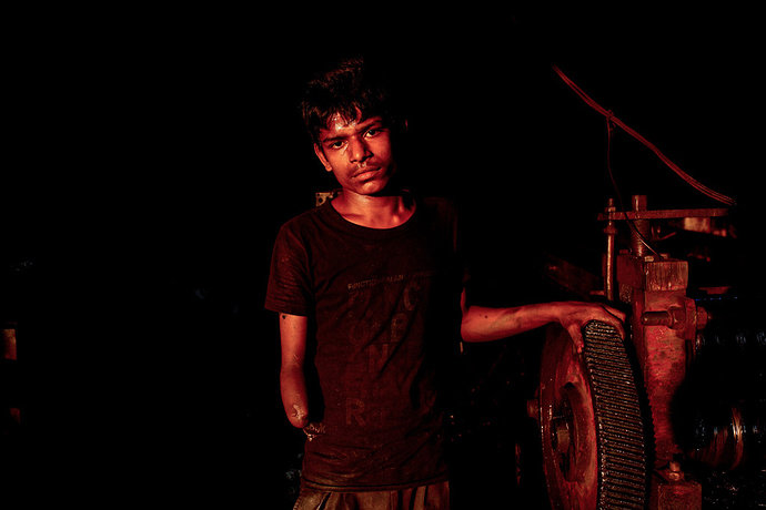 Kehidupan anak-anak Bangladesh