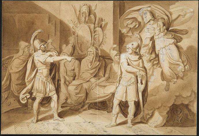 Achilles Argument of Zeno, atau Achilles Paradox