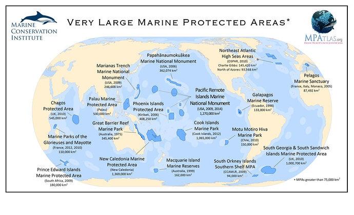 Kawasan Konservasi Laut di Dunia