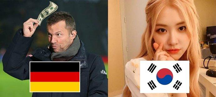 Perbedaan gestur Jerman dan Korea Selatan.