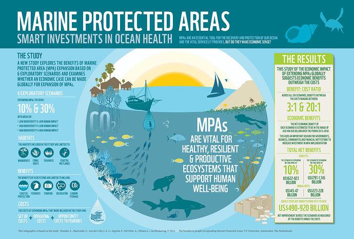 Infografik Kawasan Konservasi Laut