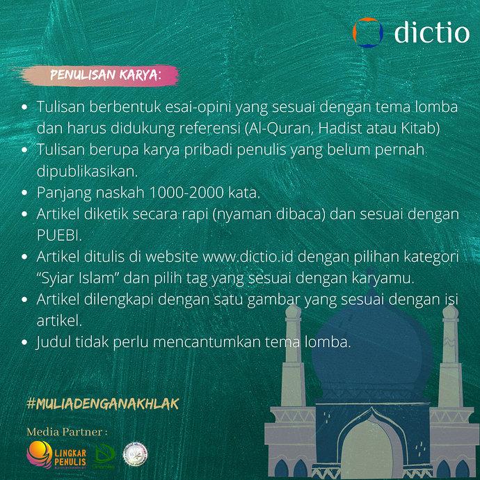 Lomba Dictio Syiar Agama 1.0 -4