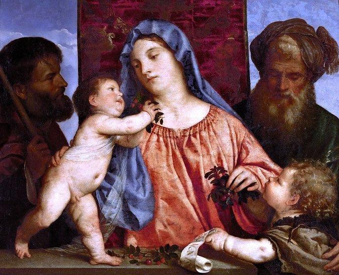 5 cm, oil on canvas, 1515 - Kunsthistorisches Museum (Vienna)