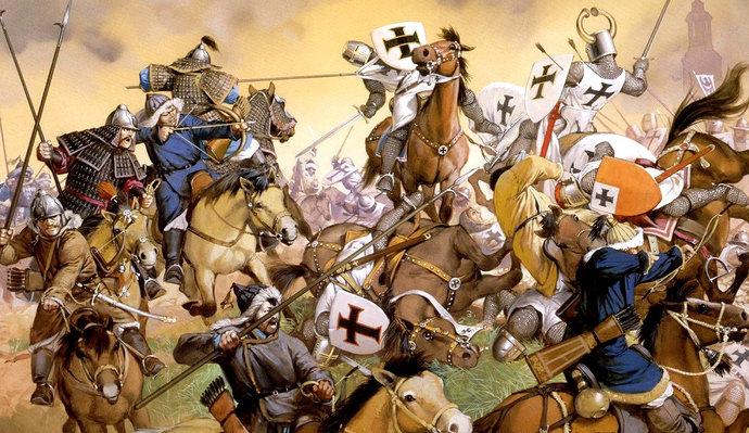 perang bangsa mongol