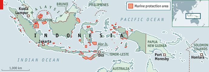 Kawasan Konservasi Laut di Indonesia