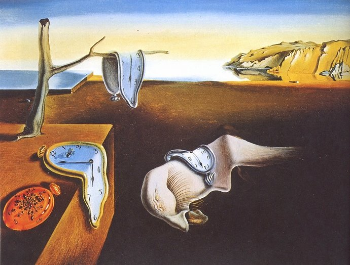 Salvador Dali, The Persistence of Memory