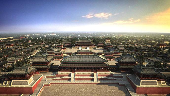 Kompleks istana Dinasti Tang