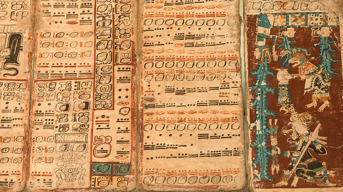 Catatan kuno suku Maya