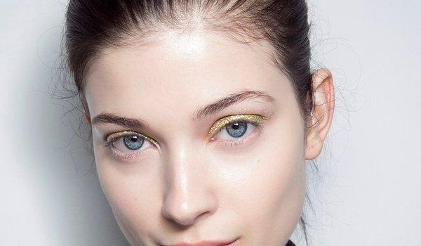 glitter-eye-makeup-altuzarra 2