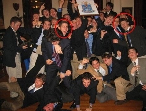 zuckerberg-right-circle-with-his-brothers-in-harvards-alpha-epsilon-pi-a-jewish-fraternity-including-spurned-facebook-co-founder-eduardo-saverin-left-circle