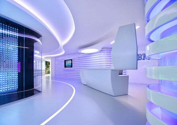 Desain Interior Di Kantor Ibm Yang Sangat Berkesan High Tech Arsitektur Dictio Community