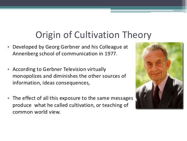 cultivation theory effects Cultivation theory states that high frequency viewers of television are more susceptible to media messages and the belief that they are real and valid heavy viewers are exposed to more violence and therefore are effected by the mean world syndrome, the belief that the world is a far worse and dangerous place then it actually is.