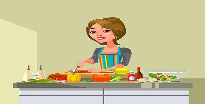 wanita harus bisa masak