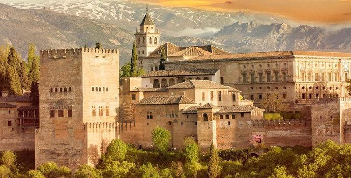 Istana Alhambra di Granada