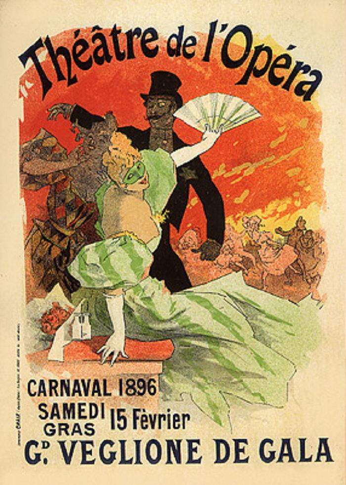 Théâtre de l'Opéra, Carnaval 1896, Grand Veglione de Gala, 1896