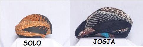 Afbeeldingsresultaat voor blangkon jogja surakarta