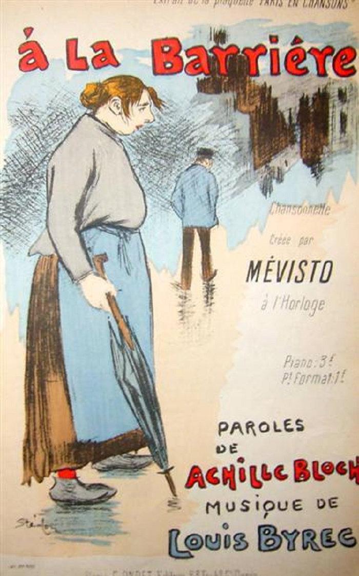 Ballade du Ventre, Theophile Steinlen, 1892