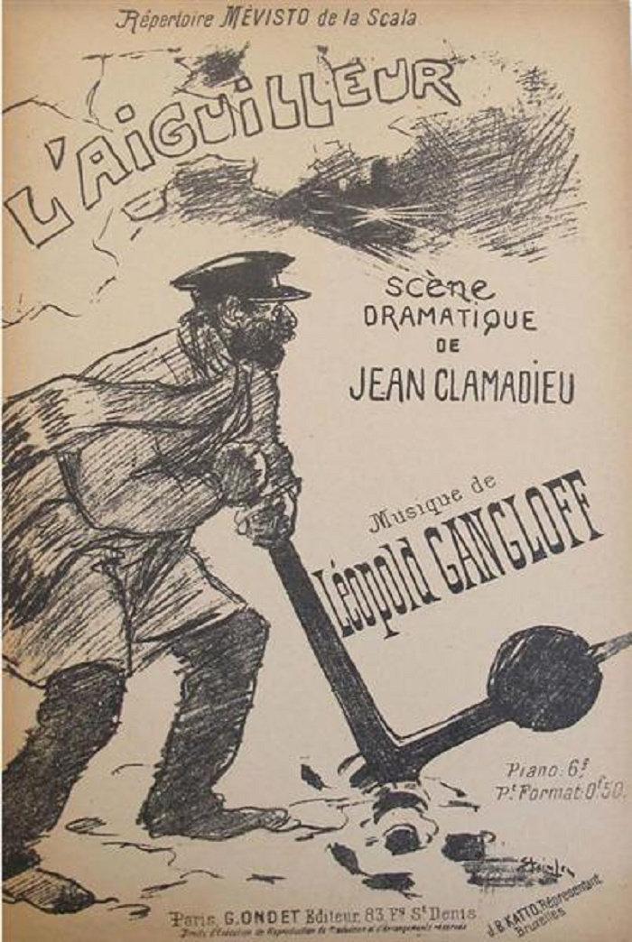 L'Aiguilleur, Theophile Steinlen, 1892