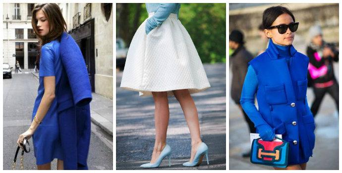 Baju warna biru