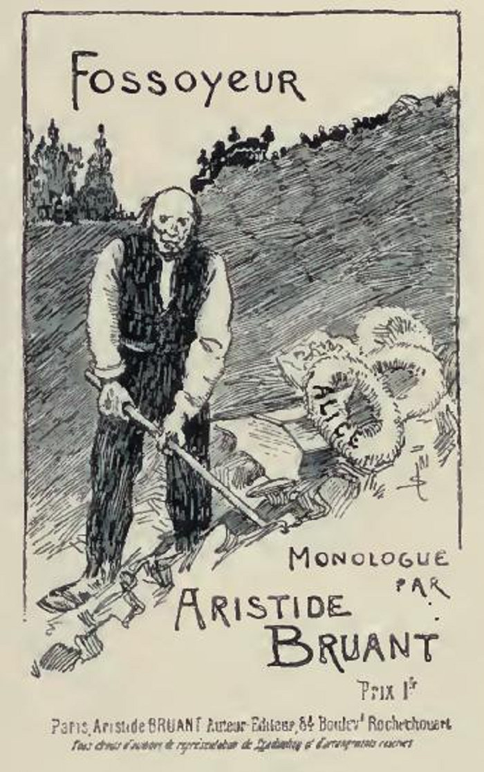 Fossoyeur, Theophile Steinlen, 1891