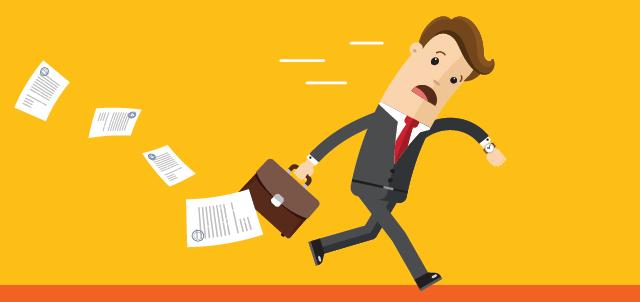 employee attendance illustration