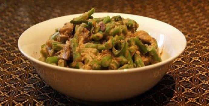 Bagaimana cara membuat tauco buncis kacang panjang?