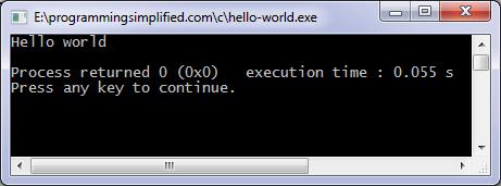 hello-world-c