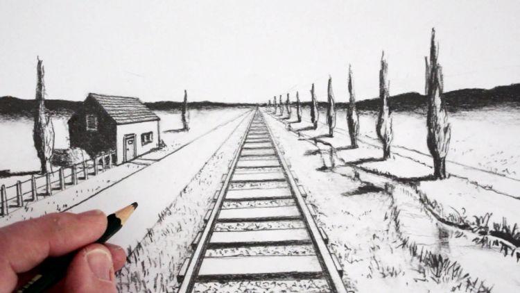 Apa Yang Dimaksud Dengan Perspektif 1 Titik Lenyap Ilmu Seni Rupa Dictio Community
