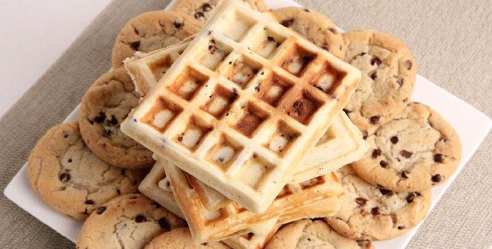 Bagaimana cara membuat Waffle Cookies?