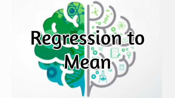 Regression to the mean fallacy
