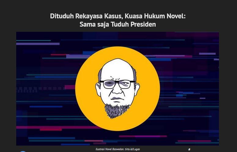 novel baswedan