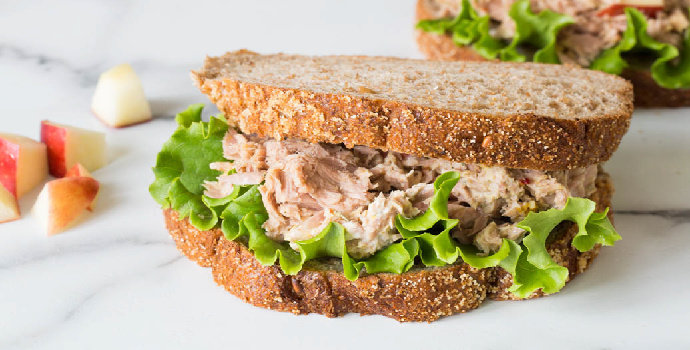 Resep Tuna Bread With Salted Egg
