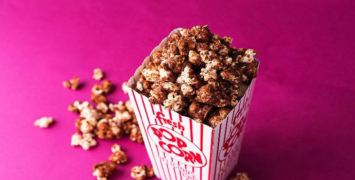 Bagaimana cara membuat nutella popcorn?