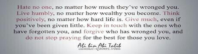 quotes cinta ali bin abu thalib