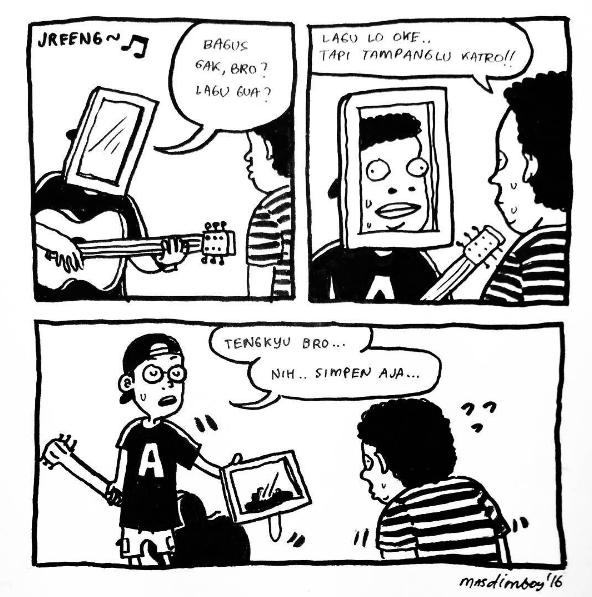 komik strip lucu 5