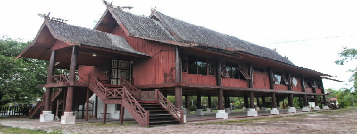 Filosofi Rumah Huma Betang Arsitektur Dictio Community