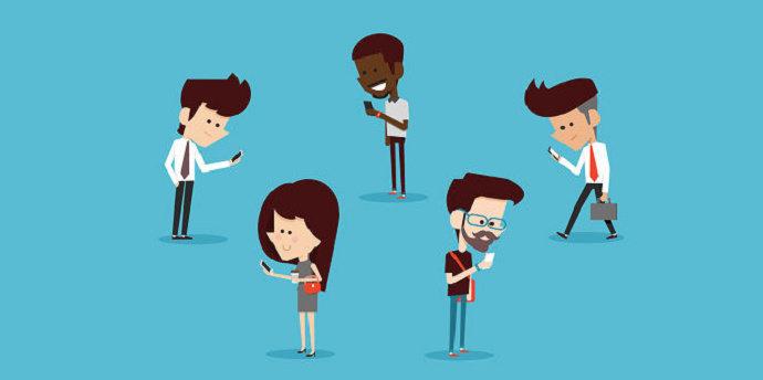 intensitas penggunaan media sosial