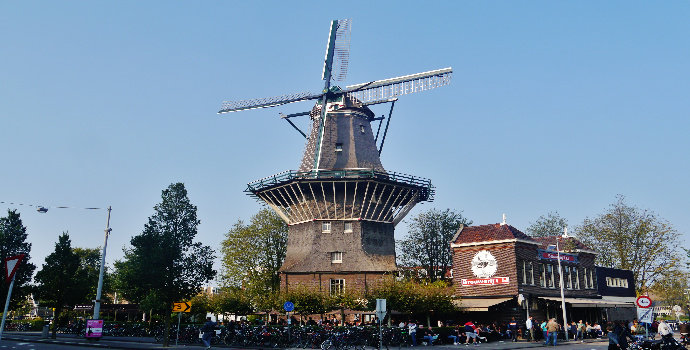 De Gooyer Windmill