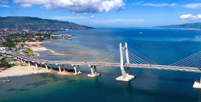 Jembatan Merah Putih Galala-Poka