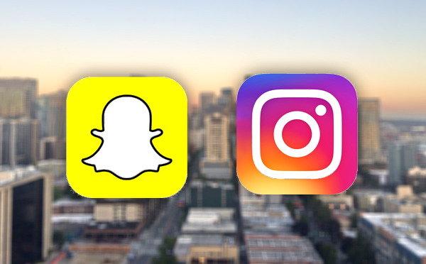 instagram dan snapchat