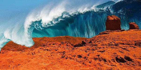 tsunami di mars