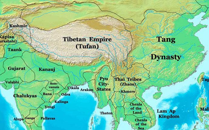 Kekuasaan Dinasti Tang