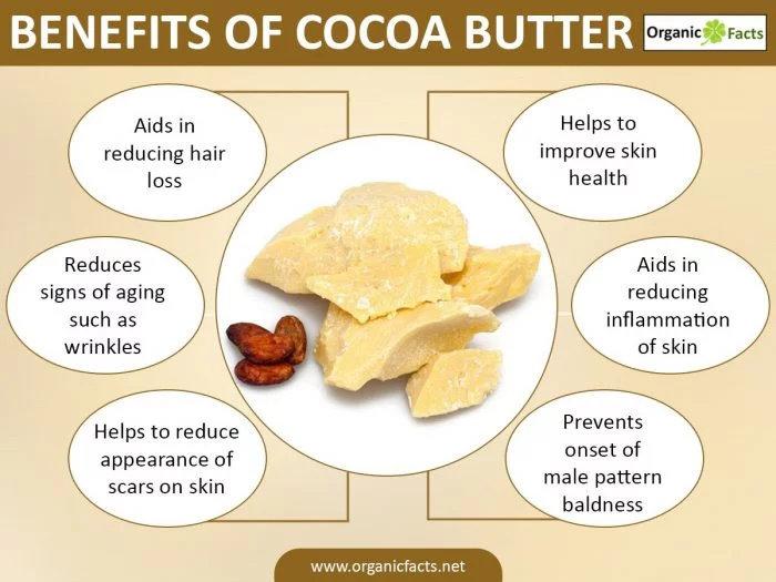 manfaat lemak kokoa